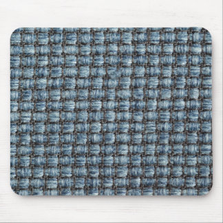 Thick blue strings and thin black strings mouse pad