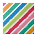 Thick Candy Stripes Ceramic Tiles