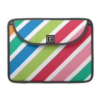 Thick Candy Stripes MacBook Pro Sleeves