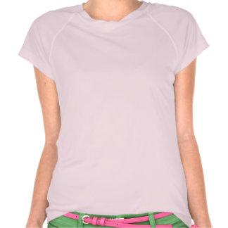 """Thick Girls Don't Quit"" Tech T-Shirt Pink"