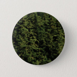 thick green forest pinback button