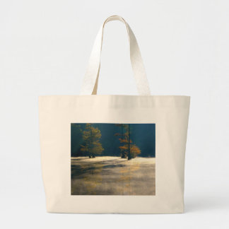 thick mist large tote bag