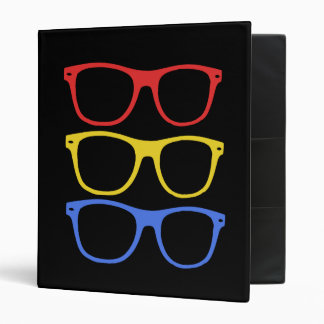 thick rimmed glasses binder