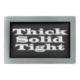 Thick Solid Tight Belt Buckle