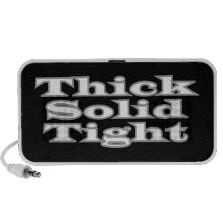 Thick Solid Tight Travel Speakers
