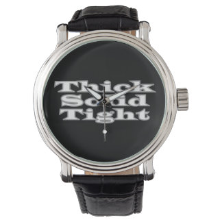 Thick Solid Tight Wrist Watch