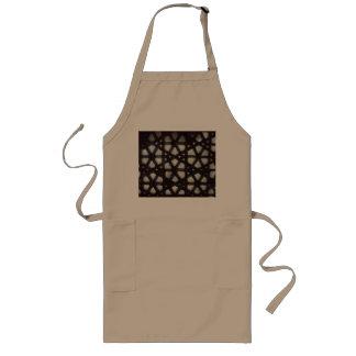 Thick stone lattice long apron