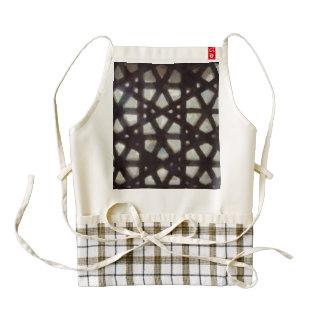 Thick stone lattice zazzle HEART apron