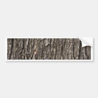 Thick Tree Bark Bumper Sticker
