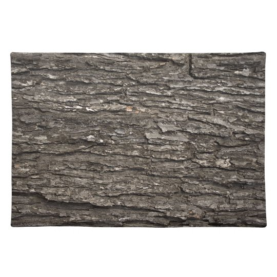 Thick Tree Bark Cloth Placemat