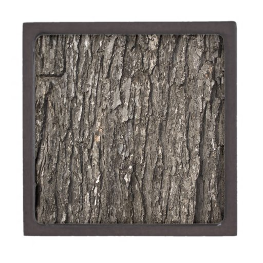Thick Tree Bark Premium Jewelry Boxes