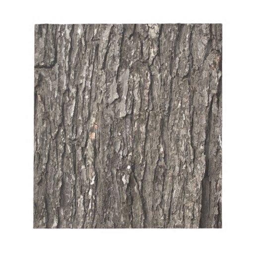 Thick Tree Bark Scratch Pad