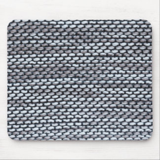 Thick white and gray strings with thin blue string mouse pad