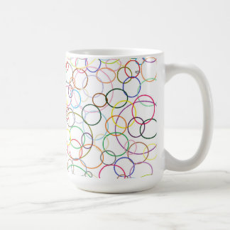 Thicker Rainbow Circles Mug