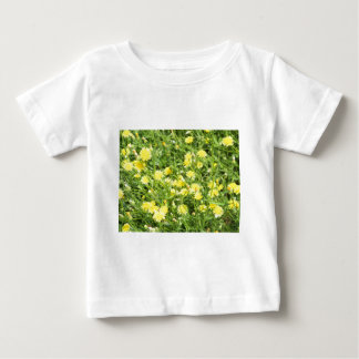 Thickets of small yellow flowers Picris Rigida at Baby T-Shirt