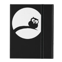 Thickness owl in the moonlight iPad cover
