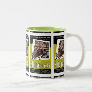 Thie Incredible Shrinking Man Two-Tone Coffee Mug