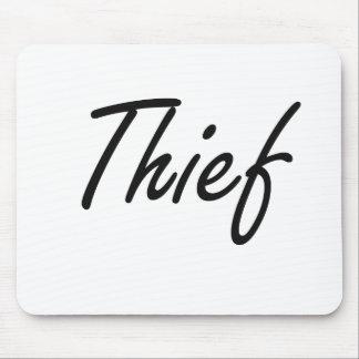 Thief Artistic Job Design Mouse Pad