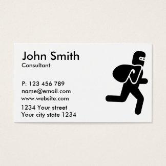 Thief Business Card