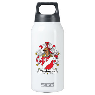 Thielmann Family Crest 10 Oz Insulated SIGG Thermos Water Bottle