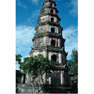 Thien Mu Pagoda, banks of Perfume River, Hue, Viet Standing Photo Sculpture