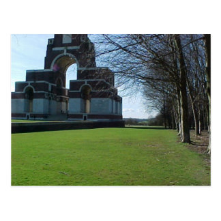 Thiepval Memorial Postcard