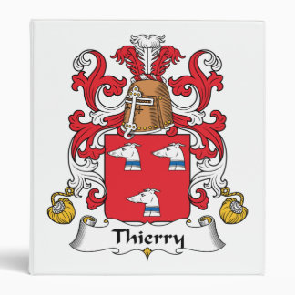 Thierry Family Crest Binder