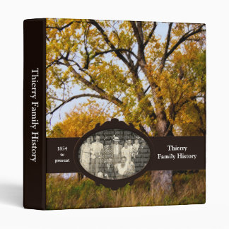 "Thierry Family History 1"" Custom Photo Binder"