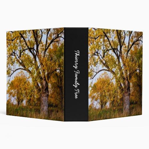 "Thierry Family Tree (2"") Vinyl Binders"