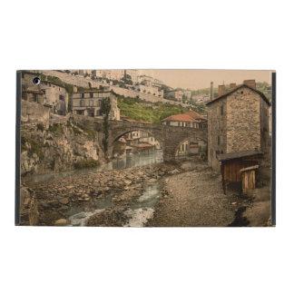 Thiers, Auvergne, France iPad Folio Cases