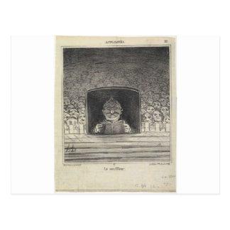 Thiers. El promotor de Honore Daumier Postales