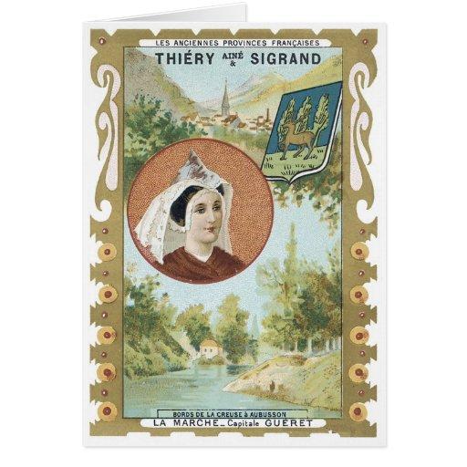 Thiery Aine y Sigrand Tarjeta De Felicitación