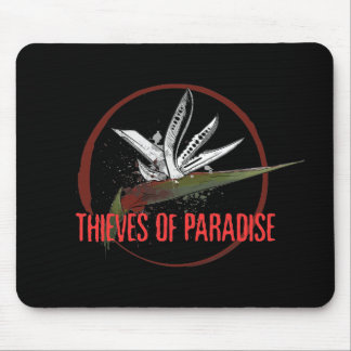 Thieves of Paradise Blades Logo Mouse Pad