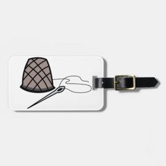 Thimble and Needle Bag Tag