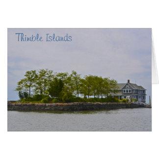 Thimble Island Notecard