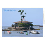 Thimble Island Notecard Card