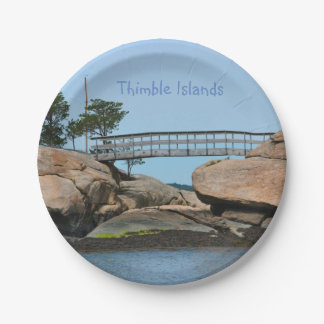 Thimble Islands Paper Plate