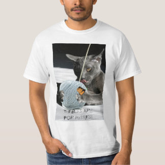 Thimbles are for Pussys! T-shirt
