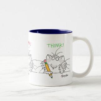 THIMK! by Boynton Two-Tone Coffee Mug