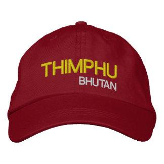 Thimphu*, gorra Timbu Bhután Gewohnhe de Bhután Gorra Bordada