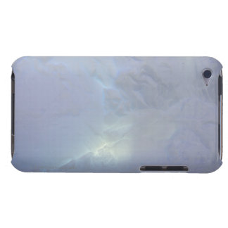 Thin backlit and almost transluscent ice wall of barely there iPod cover