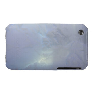 Thin backlit and almost transluscent ice wall of iPhone 3 Case-Mate case