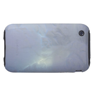 Thin backlit and almost transluscent ice wall of tough iPhone 3 cover
