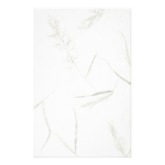 Thin blades of grass Japanese rice paper