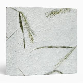 Thin blades of grass Japanese rice paper 2 Binder