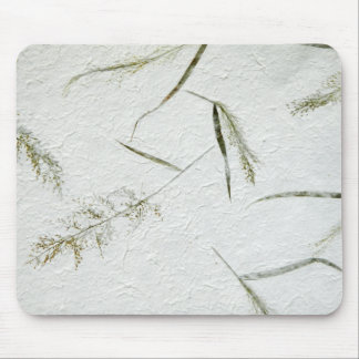 Thin blades of grass Japanese rice paper Mouse Pad