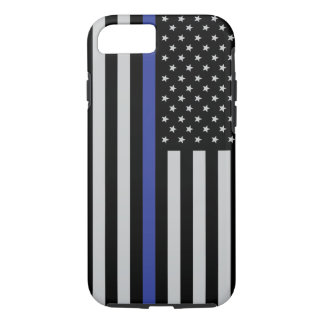 Thin Blue Flag Though Iphone 7 Case