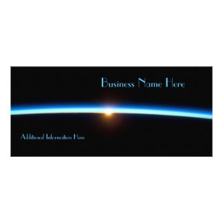 Thin Blue Line 2012 Calendar Business Rack Card