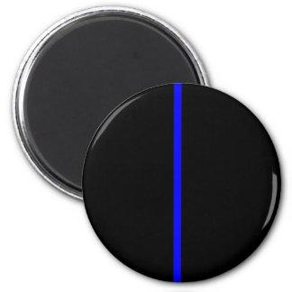 Thin Blue Line 2 Inch Round Magnet