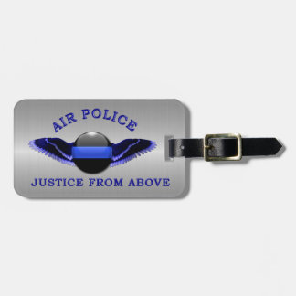 Thin Blue Line - Air Police: Justice From Above Luggage Tag